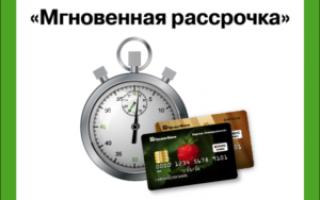 Перевод долга кредитной карты на условия мгновенной рассрочки