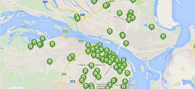 Отделения ПриватБанка в Днепропетровске