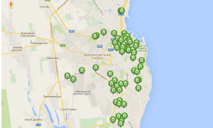 Отделения ПриватБанка в Одессе